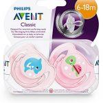 Philips Avent À la Mer Sucette pour Fille 6-18 Mois de la marque Philips image 3 produit