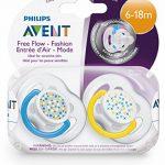 Philips AVENT Sucettes Aérées Tendance 6-18 Mois (Lot de 2) - Modèle aléatoire de la marque Philips image 4 produit